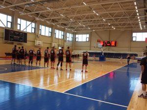 Баскетбольная площадка арена север