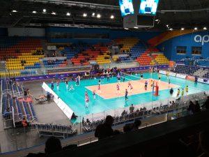 Волейбольная площадка арена север