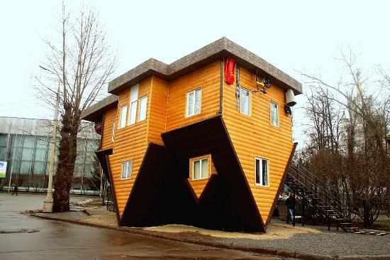 Дом верх дном