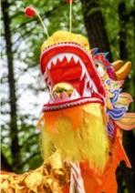 дракон на параде
