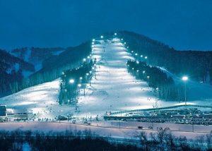 гроно-лыжный спуск бобровый лог