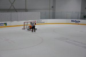 хоккейная коробка шанс арена