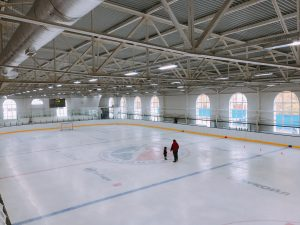 ледовое поле центра хоккейного мастерства