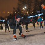 лед в парке усадьба воронцово