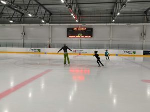 занятия на коньках шанс арена