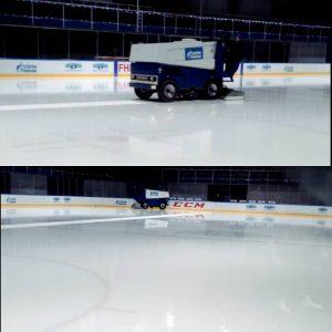 очистка льда в юбилейном