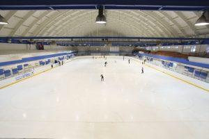 ледовый каток в ДЦ Локомотив